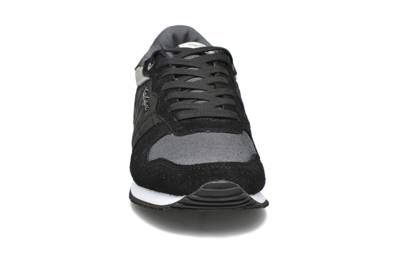 Sneaker Pepe jeans Gable Padding schwarz schuhe getragen