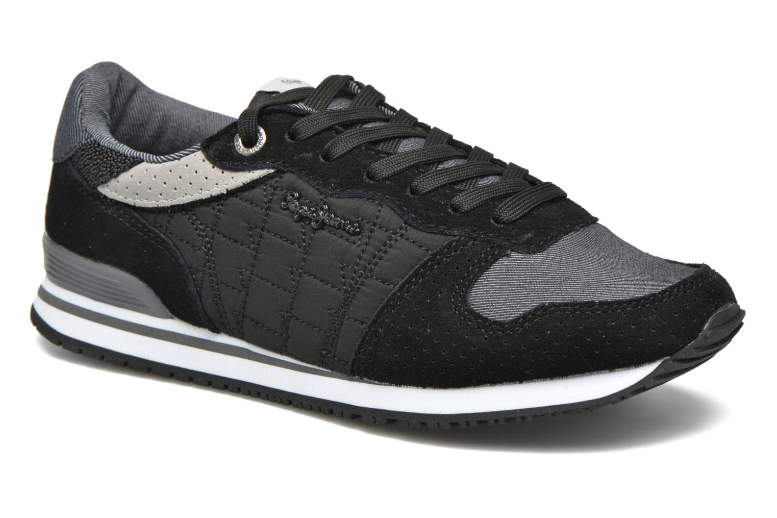 Trainers Pepe jeans Gable Padding Black detailed view/ Pair view