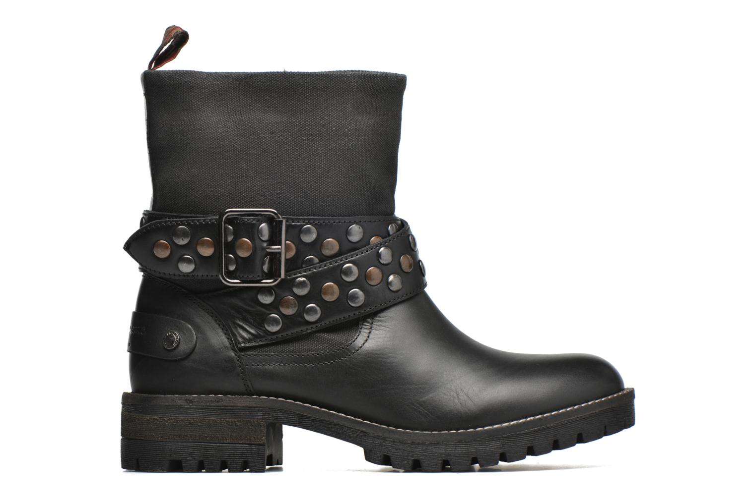 Ankle boots Pepe jeans Helen Straps Black back view