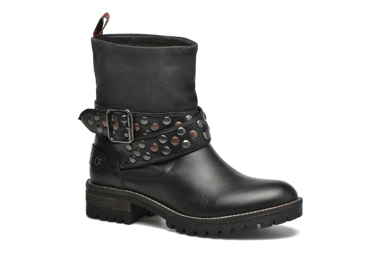 Bottines et boots Pepe jeans Helen Straps Noir vue détail/paire