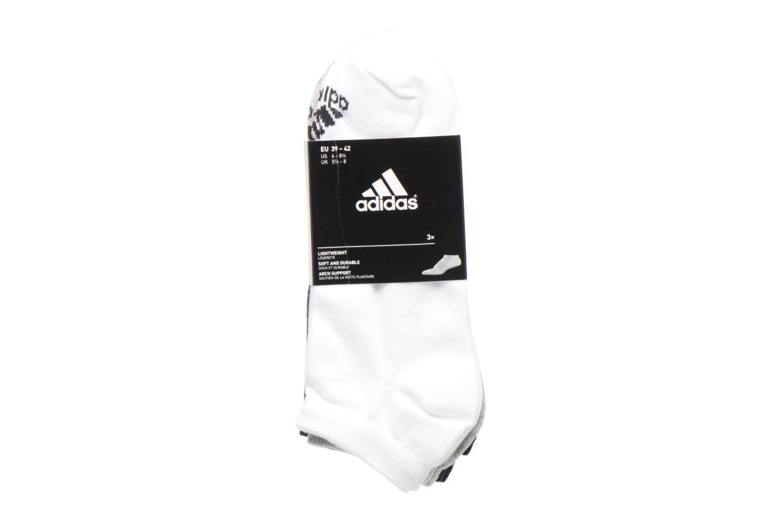 Socks & tights Adidas Performance PER LA CREW T3P White back view