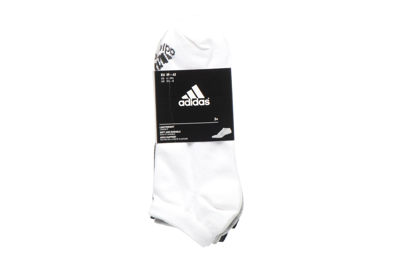 Medias y Calcetines Adidas Performance PER LA CREW T3P Blanco vistra trasera