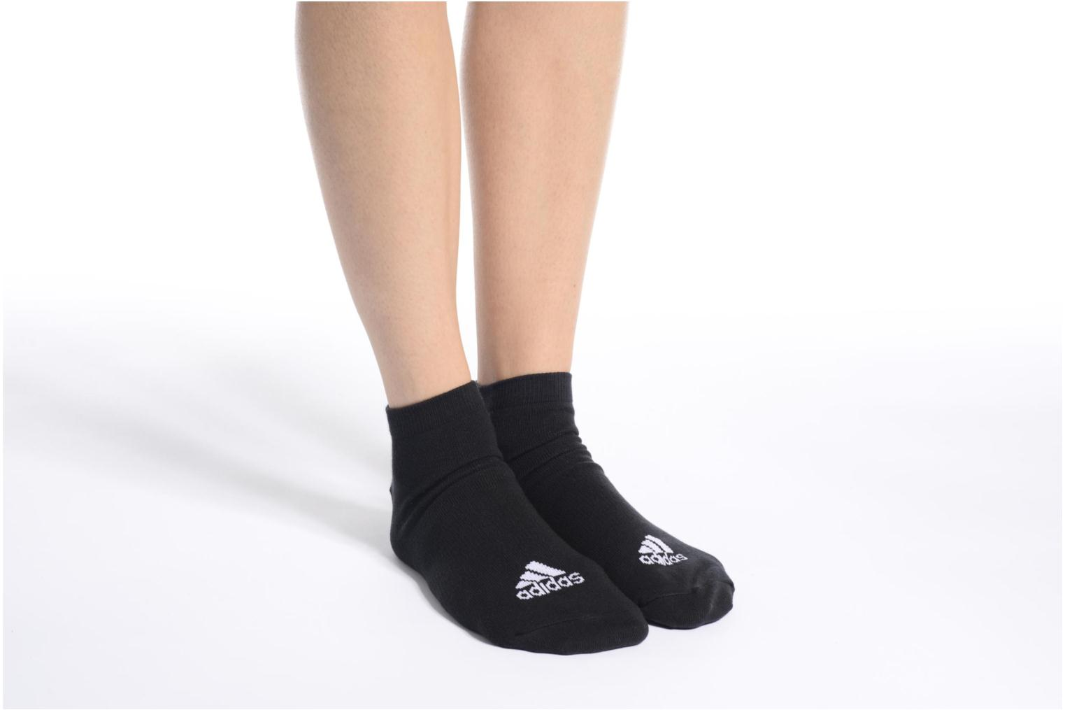 Socks & tights Adidas Performance PER LA CREW T3P White view from above