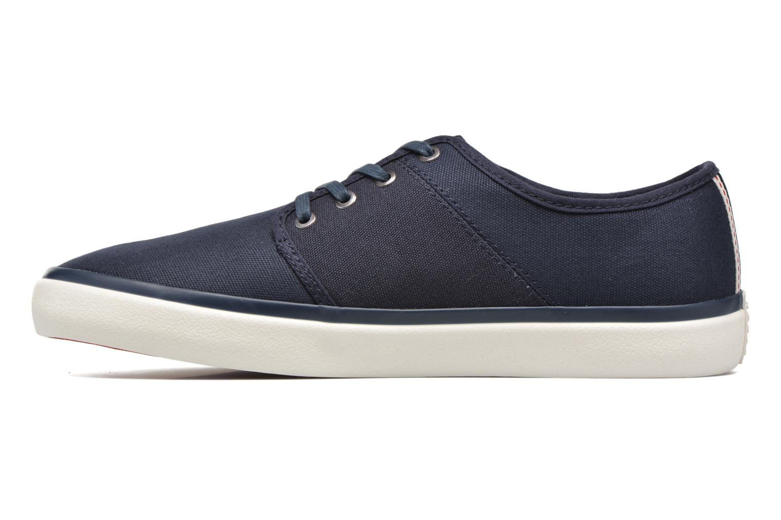 Sneakers Jack & Jones JJ Turbo Waxed Canvas Azzurro immagine frontale