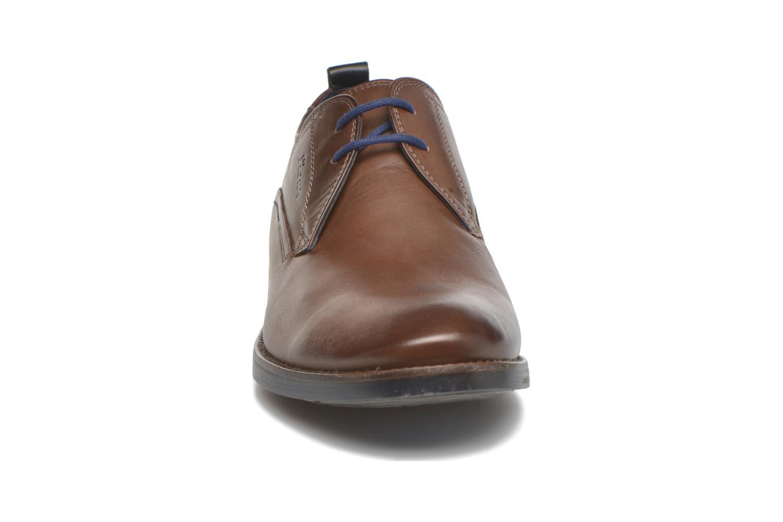 Chaussures à lacets Sioux Scivio-HW Marron vue portées chaussures