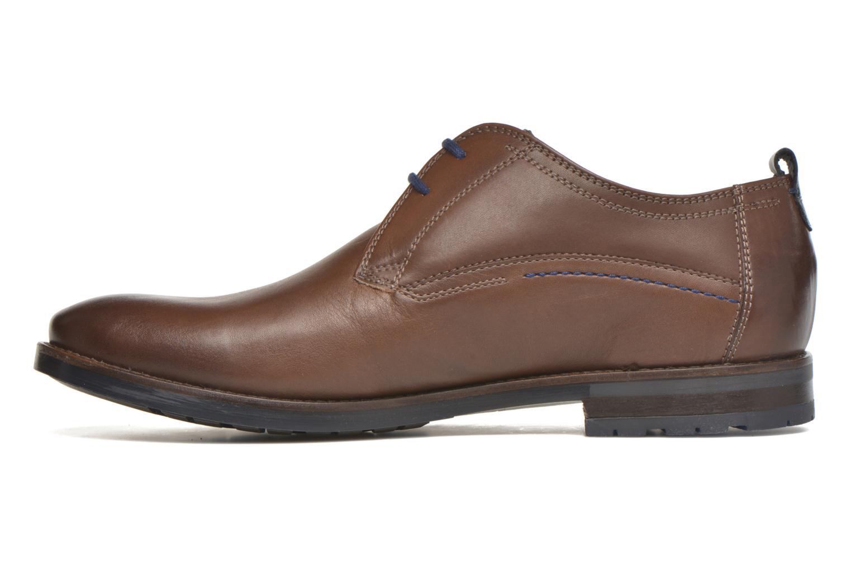 Chaussures à lacets Sioux Scivio-HW Marron vue face