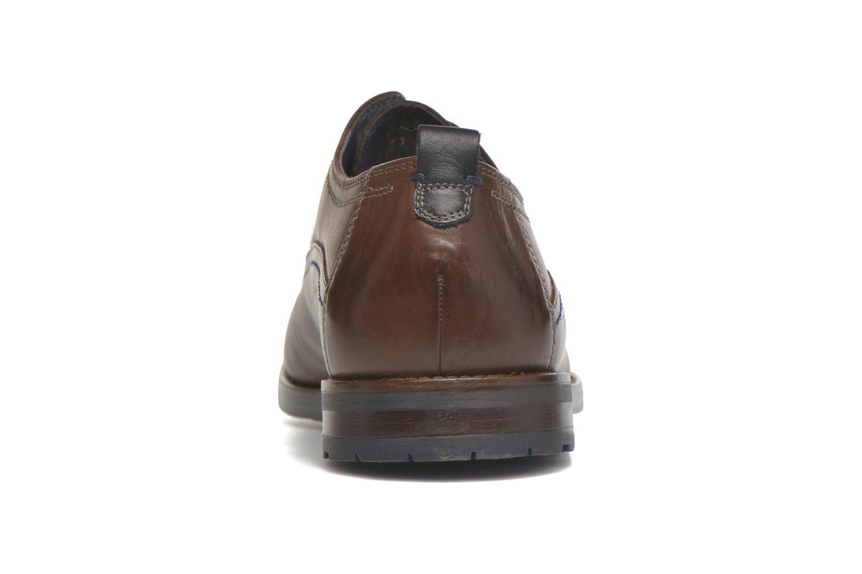 Chaussures à lacets Sioux Scivio-HW Marron vue droite