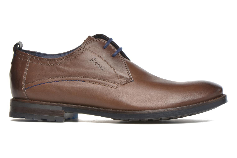 Chaussures à lacets Sioux Scivio-HW Marron vue derrière