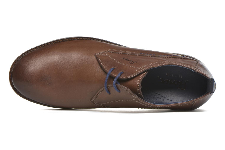 Chaussures à lacets Sioux Scivio-HW Marron vue gauche