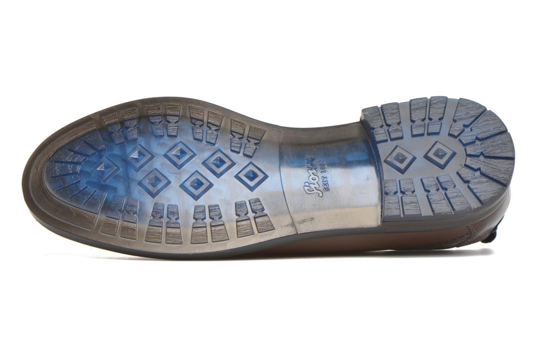 Chaussures à lacets Sioux Scivio-HW Marron vue haut