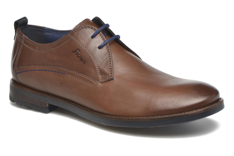 Chaussures à lacets Sioux Scivio-HW Marron vue détail/paire