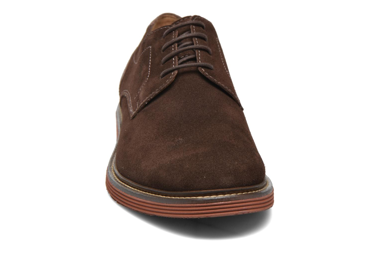 Chaussures à lacets Sioux Birgo Marron vue portées chaussures