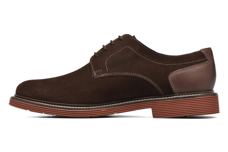 Chaussures à lacets Sioux Birgo Marron vue face