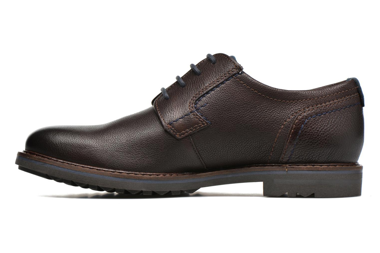 Chaussures à lacets Sioux Envito Marron vue face