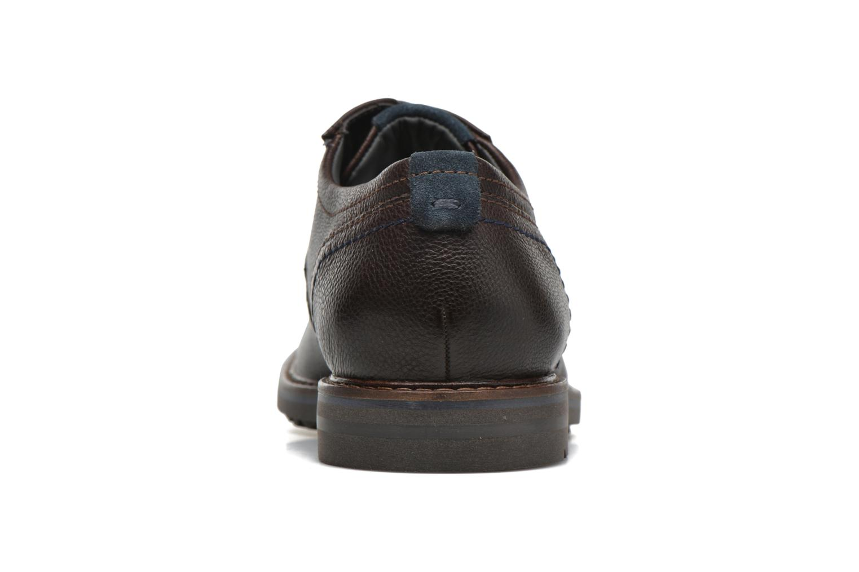 Chaussures à lacets Sioux Envito Marron vue droite