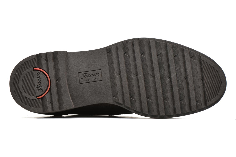 Chaussures à lacets Sioux Envito Marron vue haut