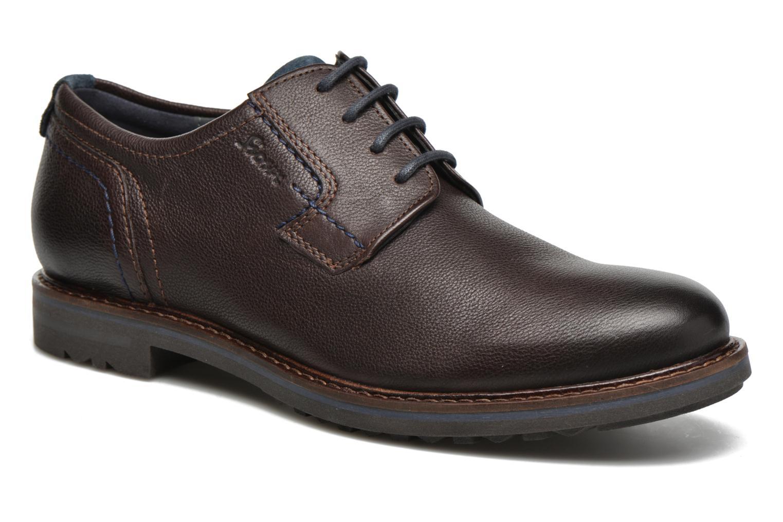 Chaussures à lacets Sioux Envito Marron vue détail/paire