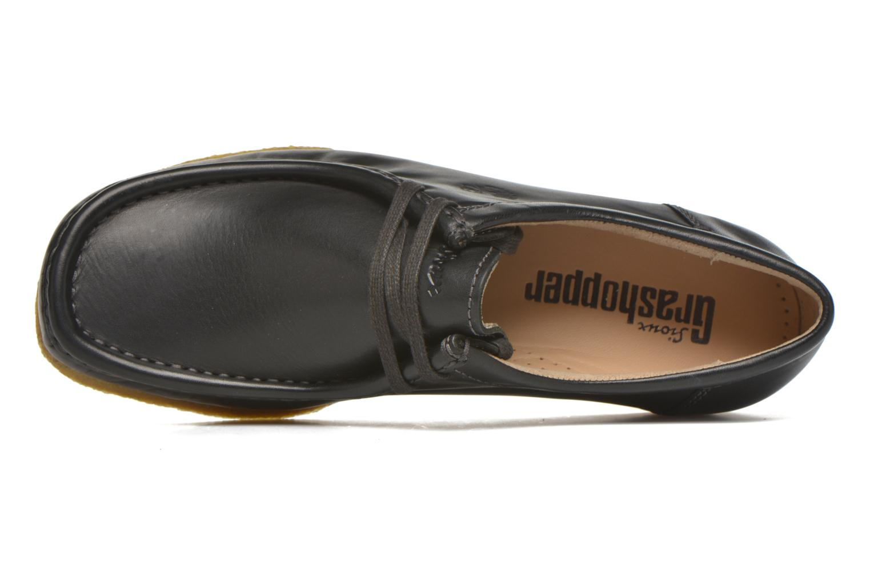 Chaussures à lacets Sioux Grashopper-H-141 Noir vue gauche