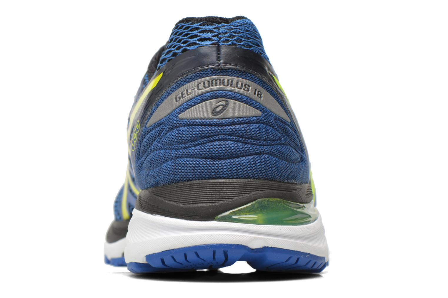 Sport shoes Asics Gel-Cumulus 18 Blue view from the right