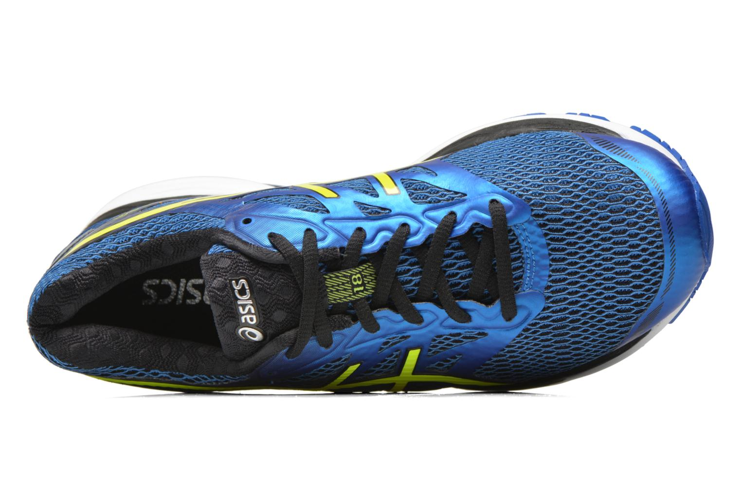 Sport shoes Asics Gel-Cumulus 18 Blue view from the left