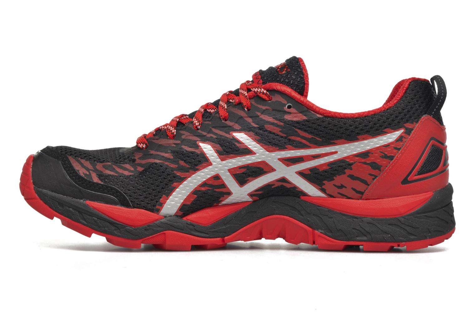 Sport shoes Asics Gel-Fujitrabuco 5 Red front view