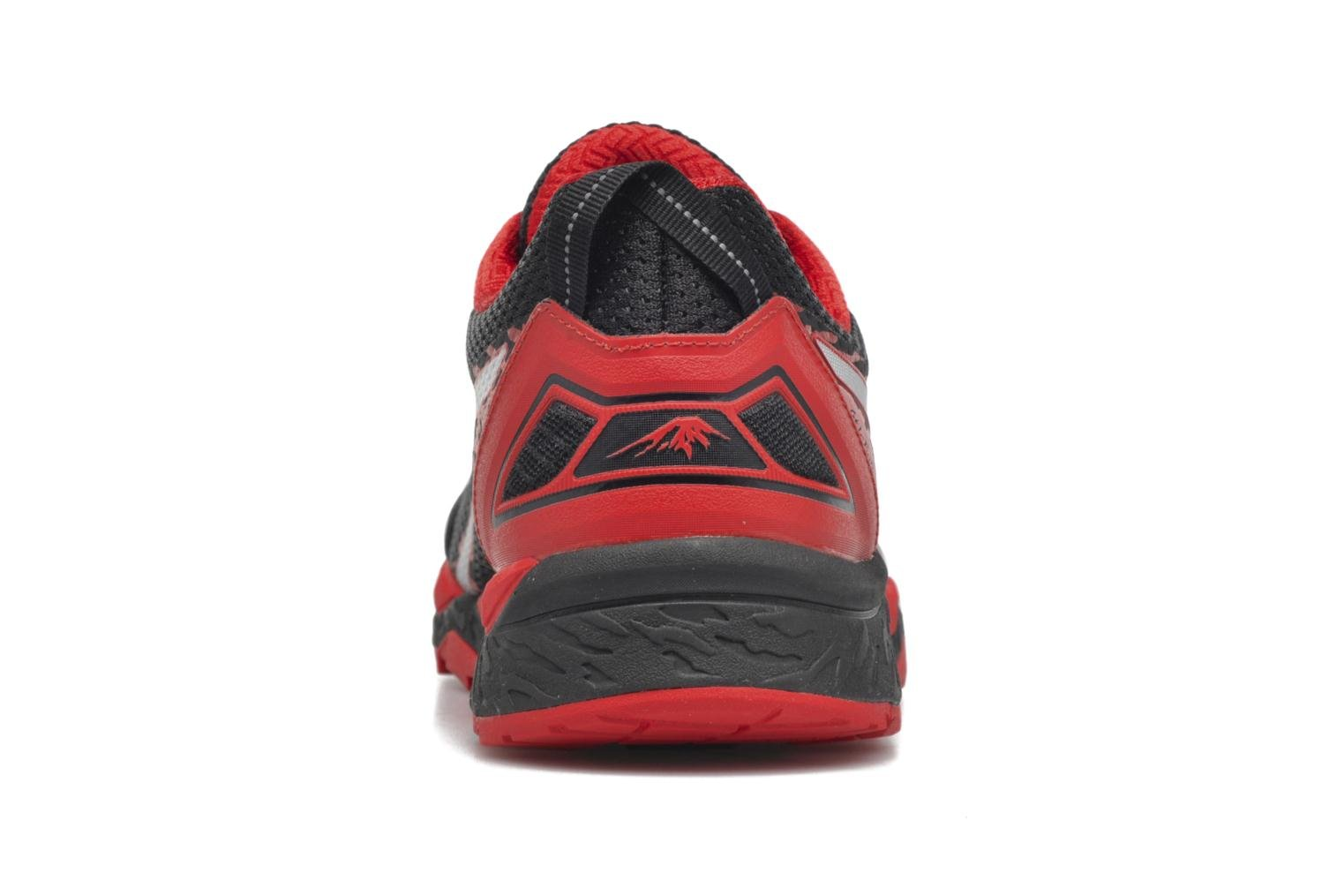 Sport shoes Asics Gel-Fujitrabuco 5 Red back view
