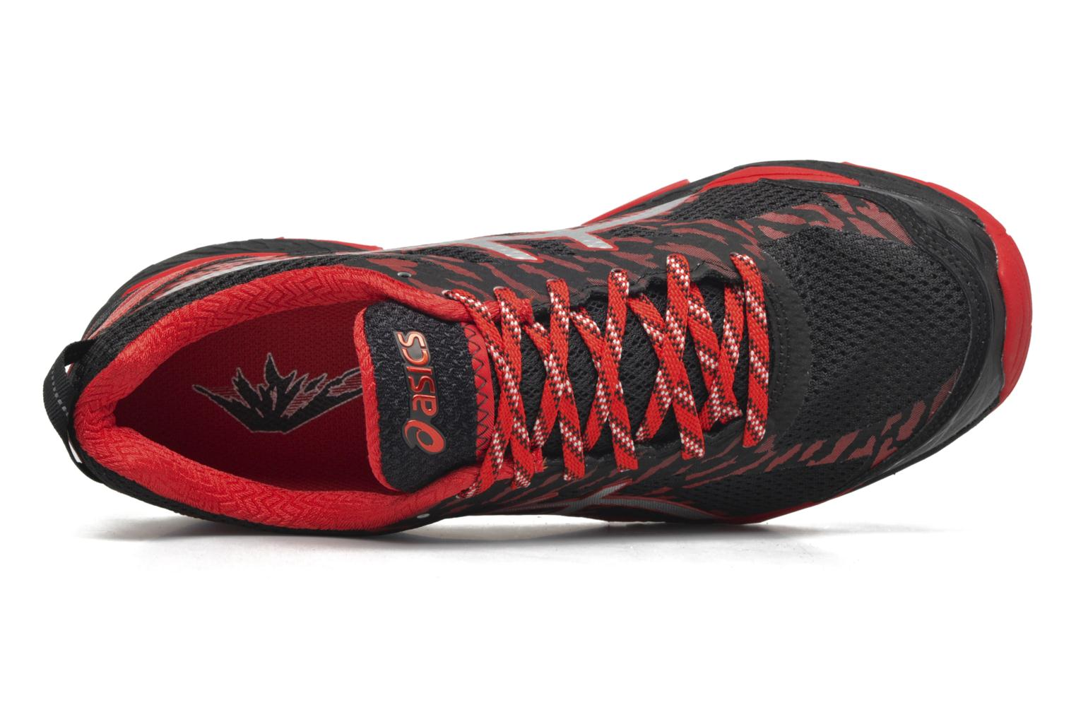 Sport shoes Asics Gel-Fujitrabuco 5 Red view from above