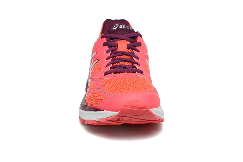 Chaussures de sport Asics Gel-Pulse 8 W Rouge vue portées chaussures