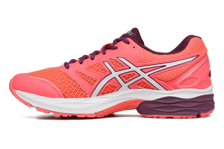 Chaussures de sport Asics Gel-Pulse 8 W Rouge vue face