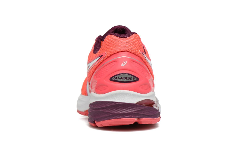 Chaussures de sport Asics Gel-Pulse 8 W Rouge vue droite