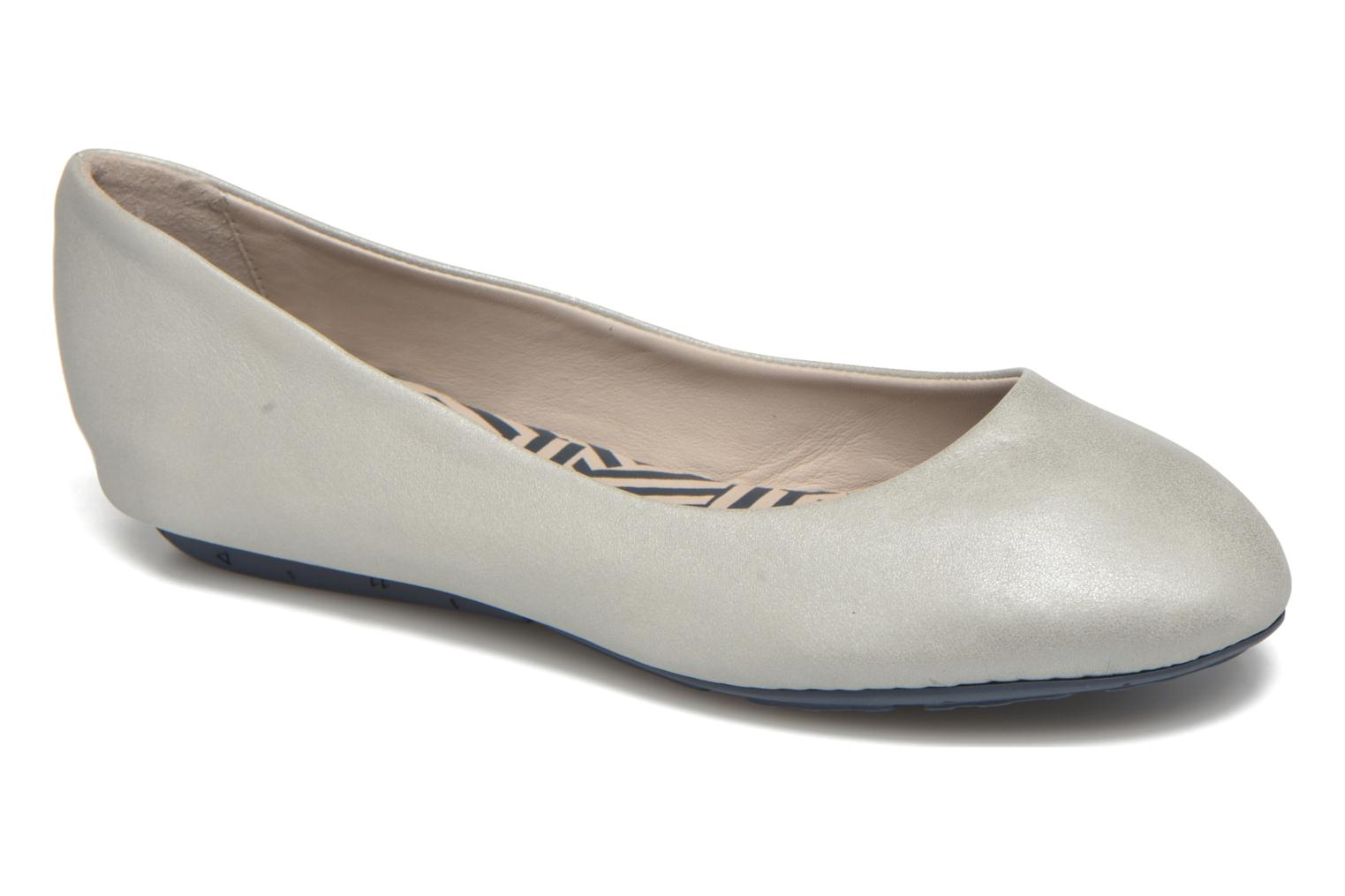 Ballet pumps TBS Camille Silver detailed view/ Pair view