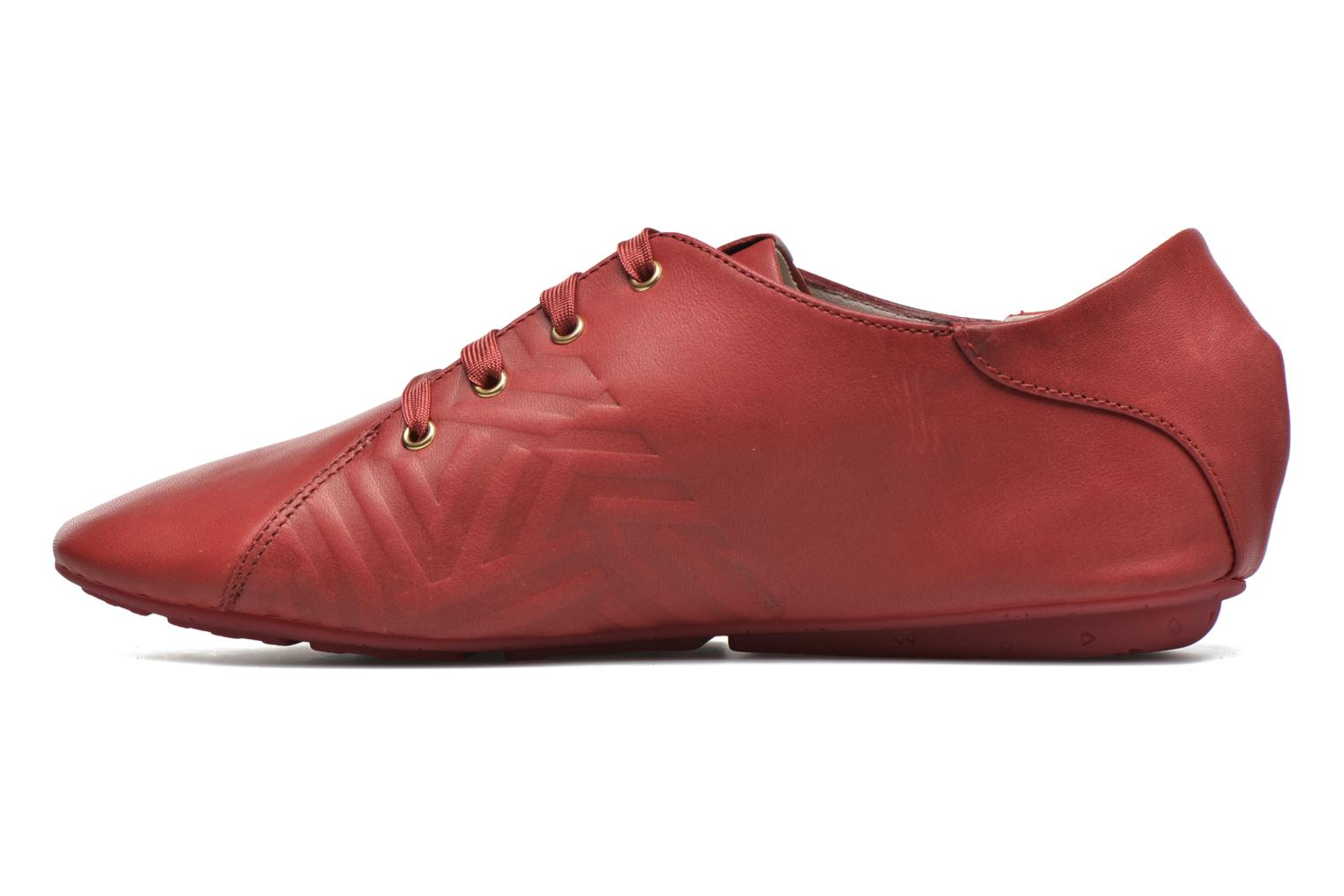 Lace-up shoes TBS Charlyn Red front view