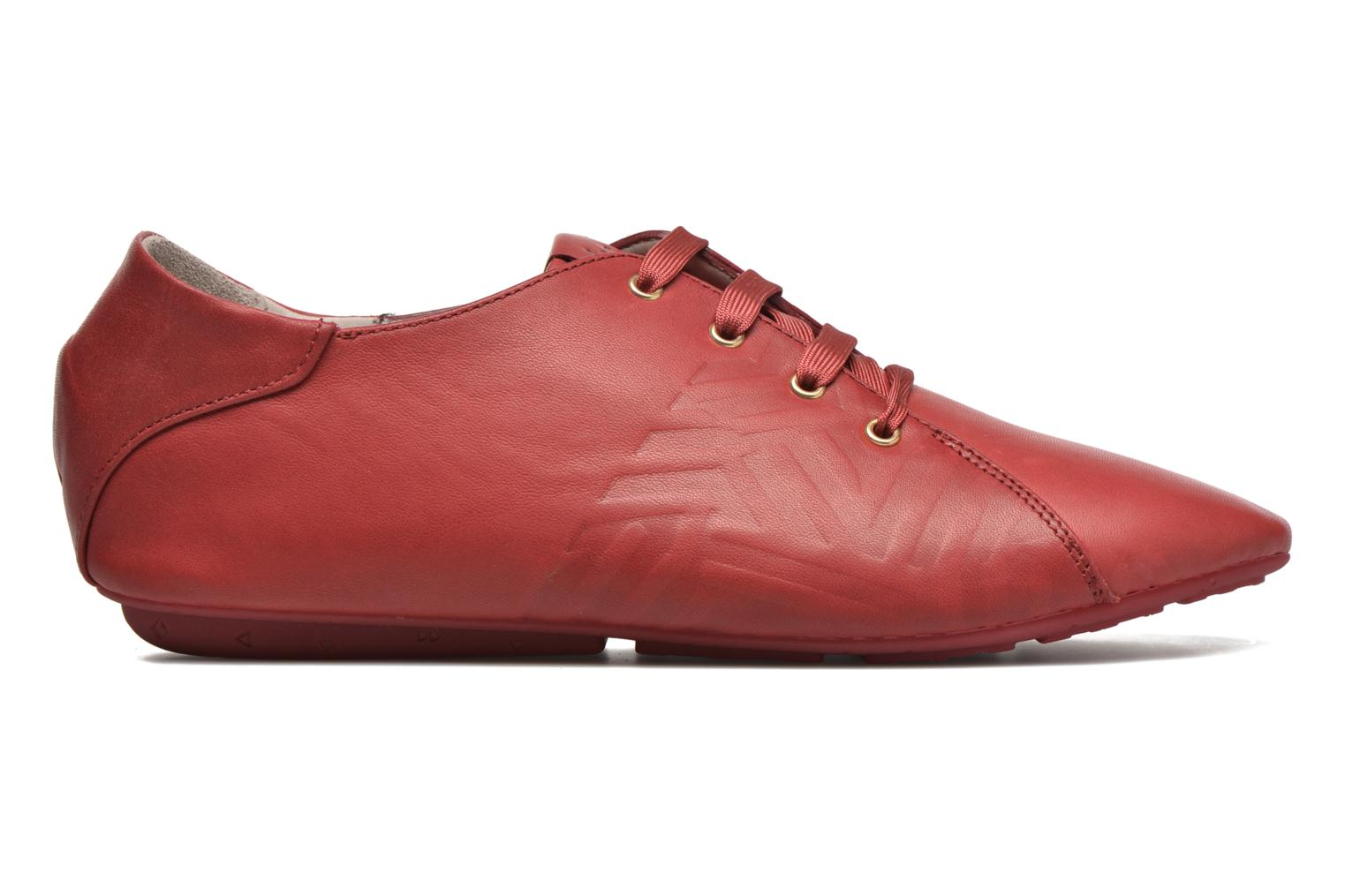 Lace-up shoes TBS Charlyn Red back view