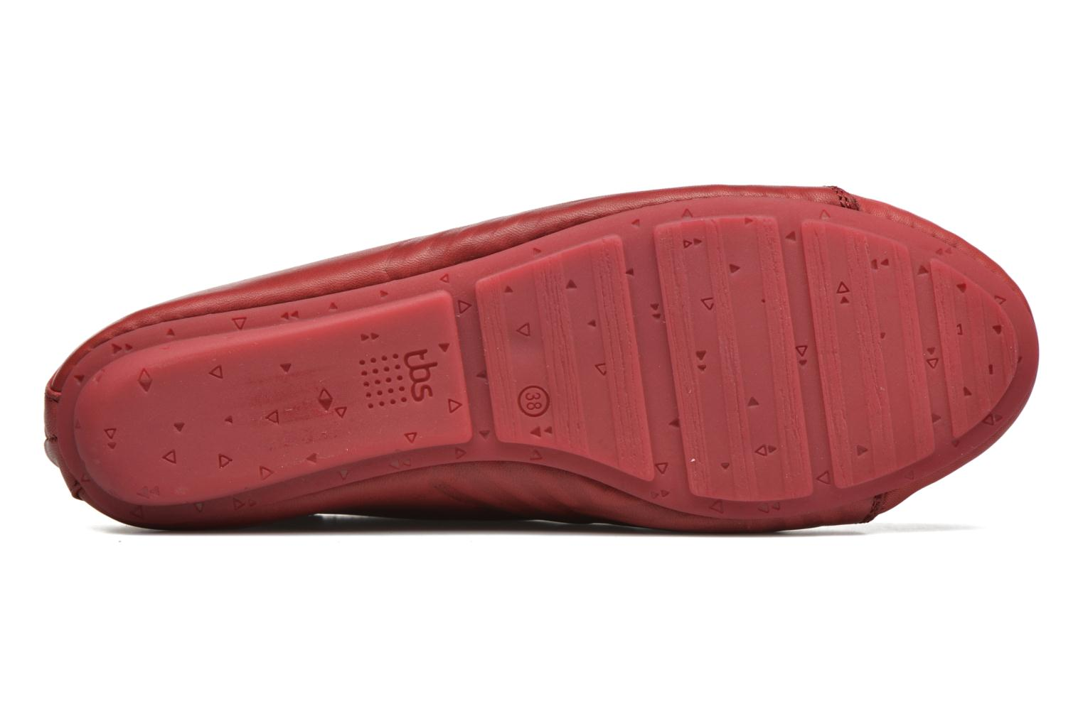 Lace-up shoes TBS Charlyn Red view from above