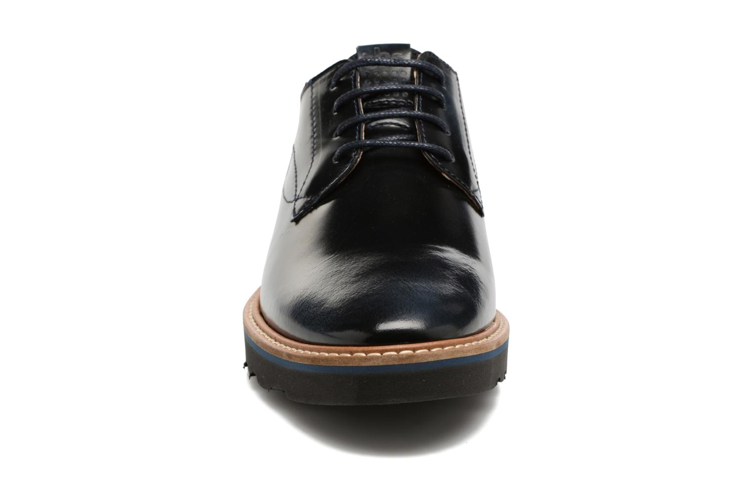 Lace-up shoes TBS Typhany Blue model view