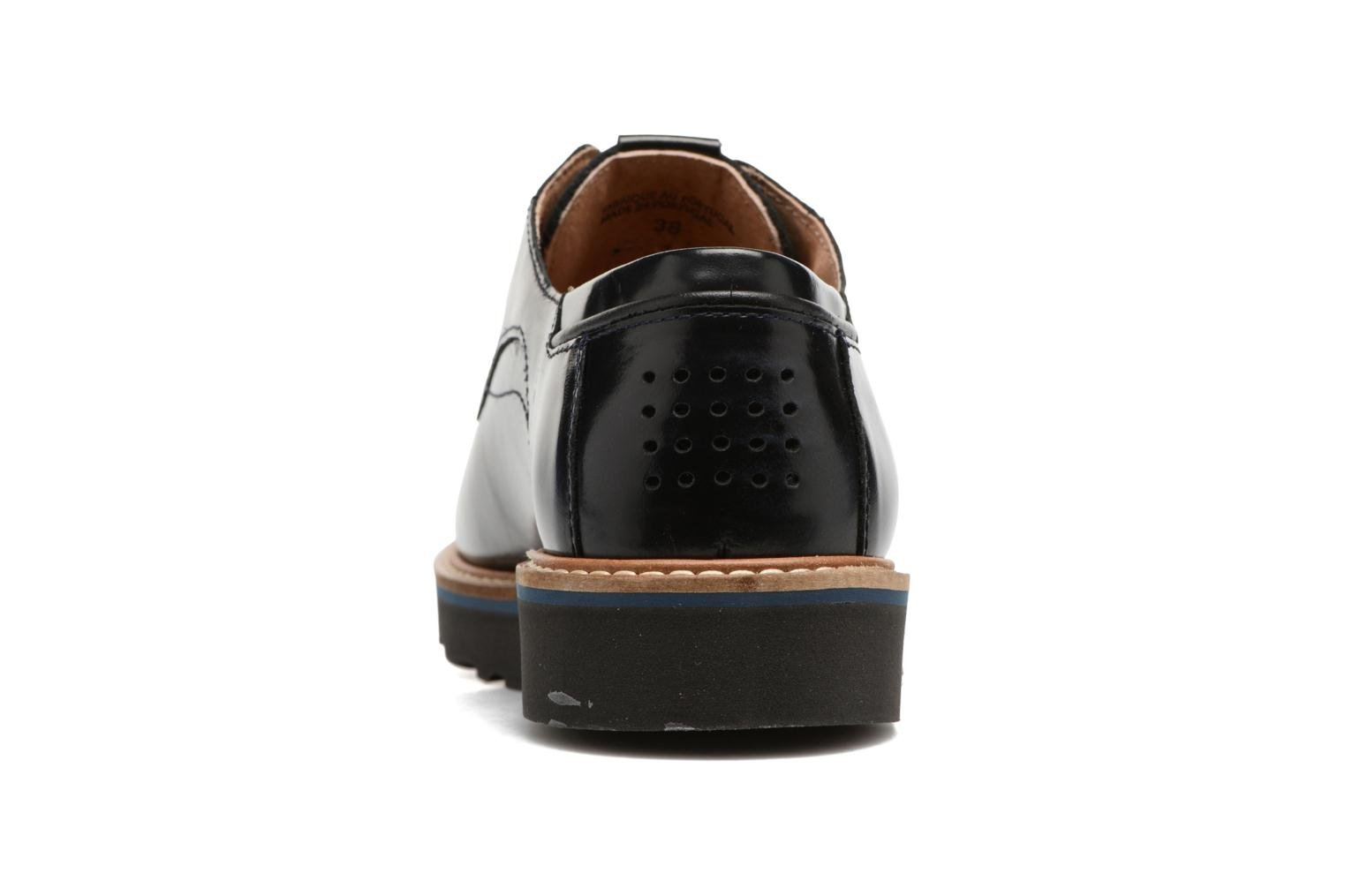 Lace-up shoes TBS Typhany Blue view from the right