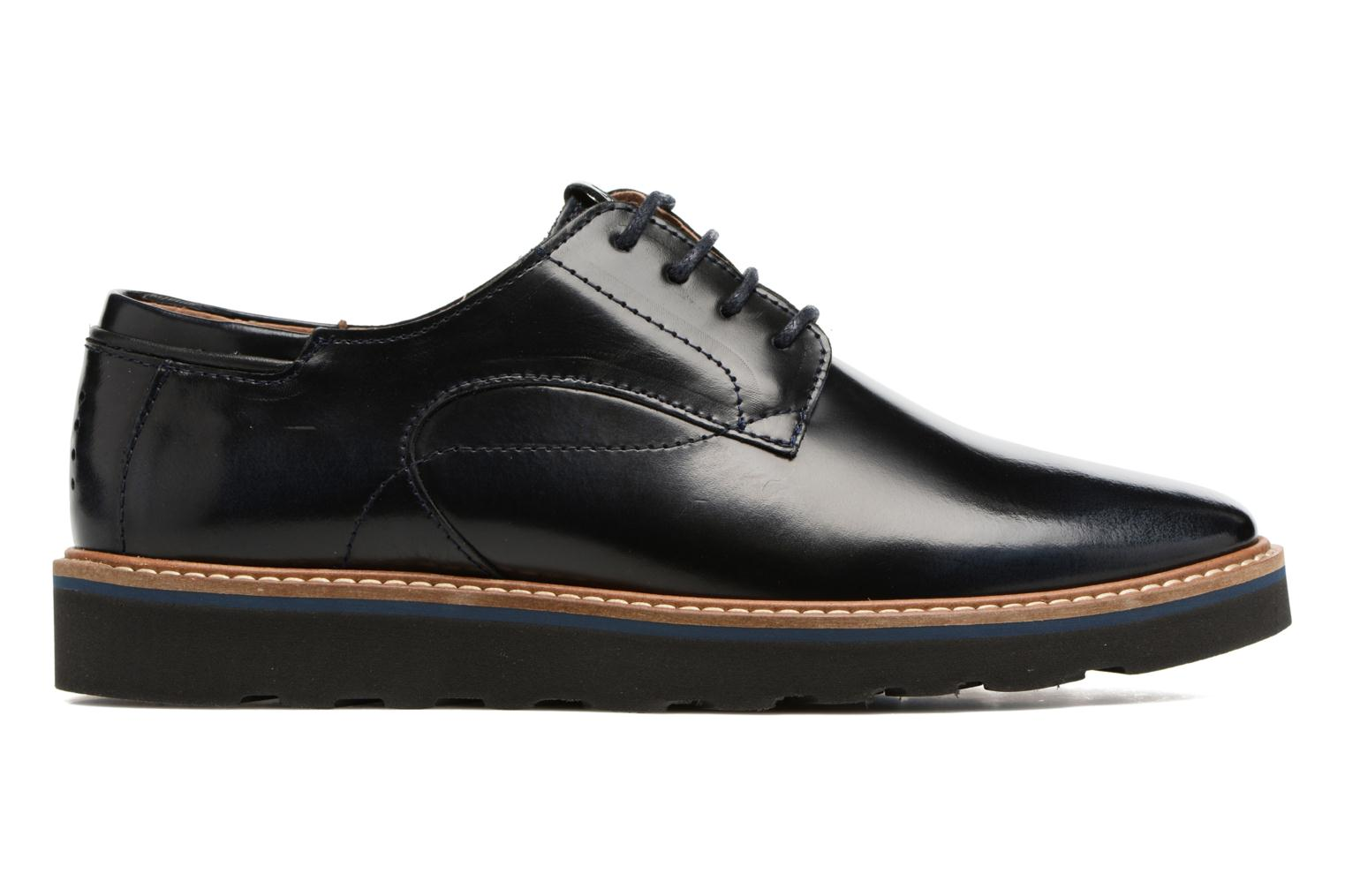 Lace-up shoes TBS Typhany Blue back view