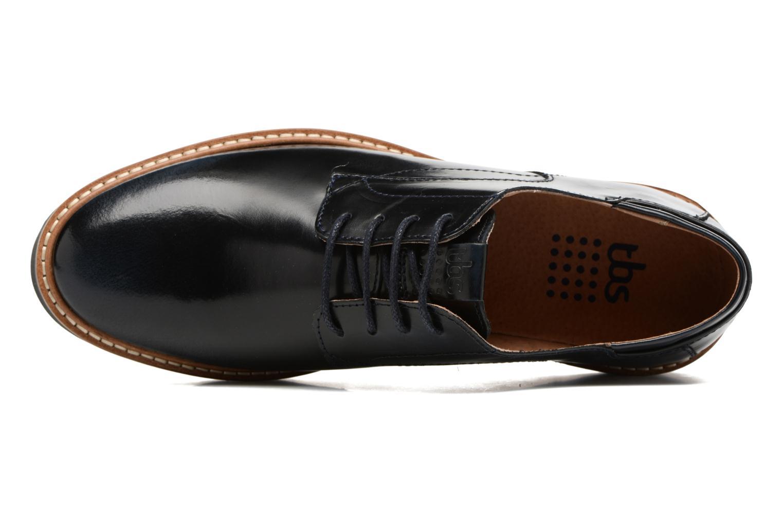 Chaussures à lacets TBS Typhany Bleu vue gauche