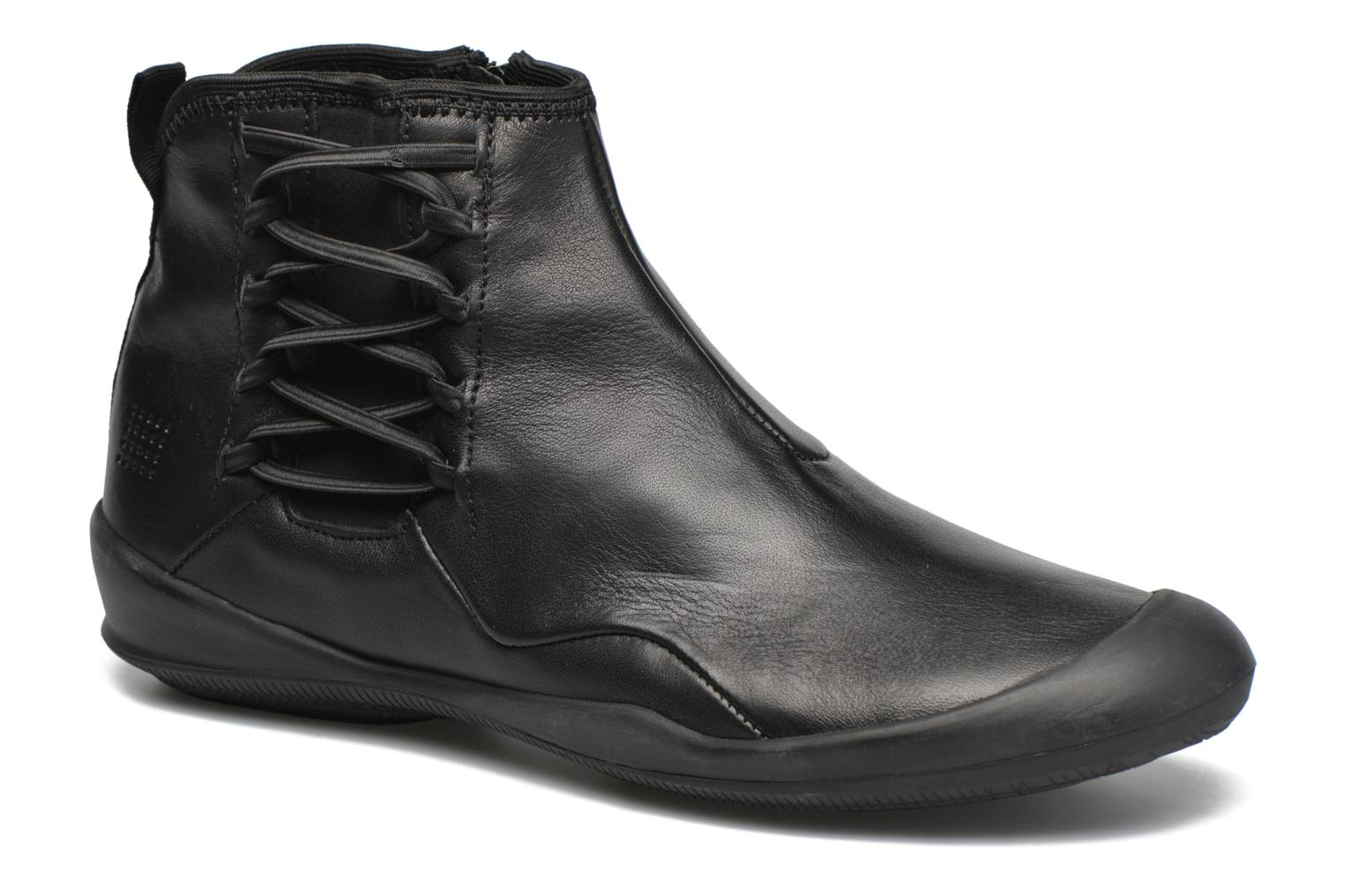 Ankle boots TBS Vivienn Black detailed view/ Pair view