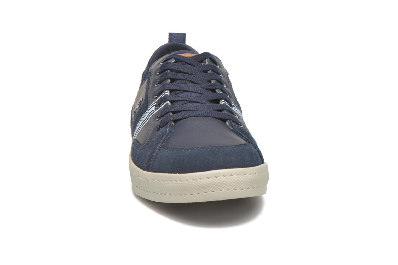Baskets TBS Blaster Bleu vue portées chaussures