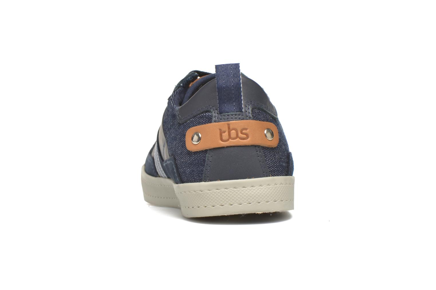 Trainers TBS Blaster Blue view from the right