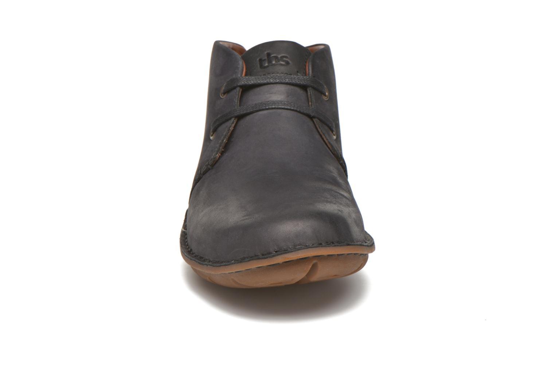 Chaussures à lacets TBS Ystoryh Noir vue portées chaussures