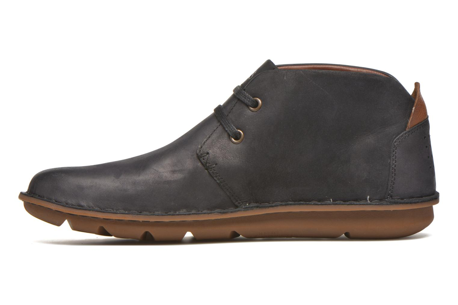 Lace-up shoes TBS Ystoryh Black front view