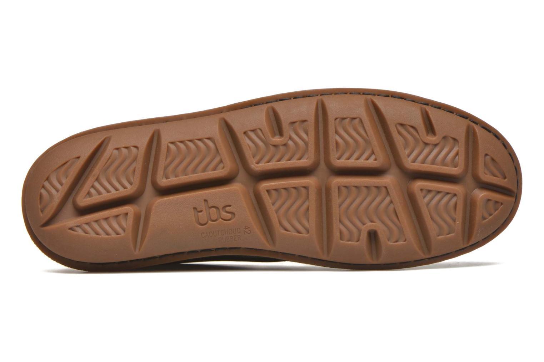 Chaussures à lacets TBS Ystoryh Noir vue haut
