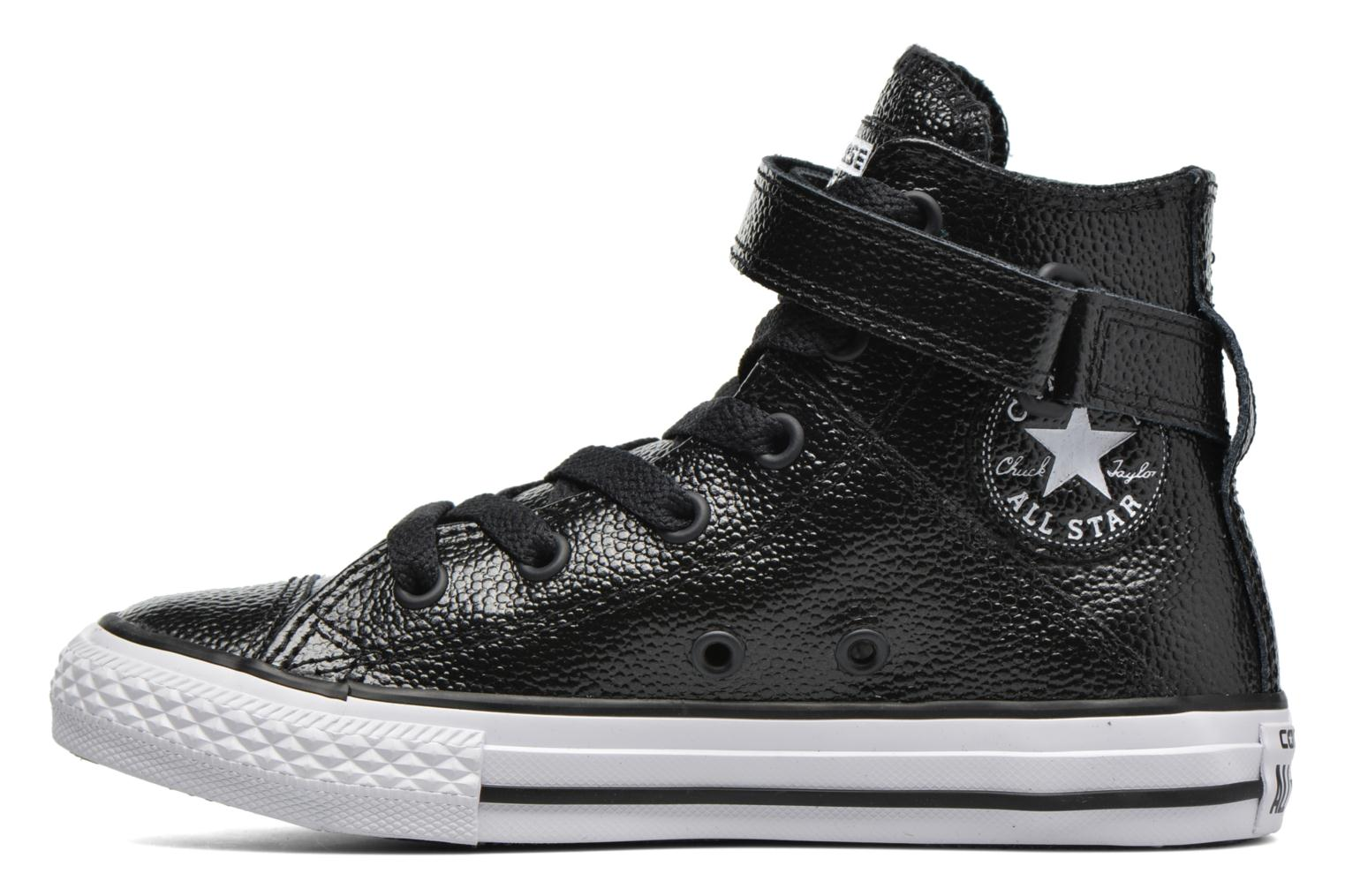 Baskets Converse Chuck Taylor All Star Brea Hi Noir vue face