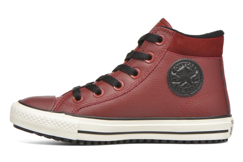 Deportivas Converse Chuck Taylor All Star Converse Boot Hi Rojo vista de frente