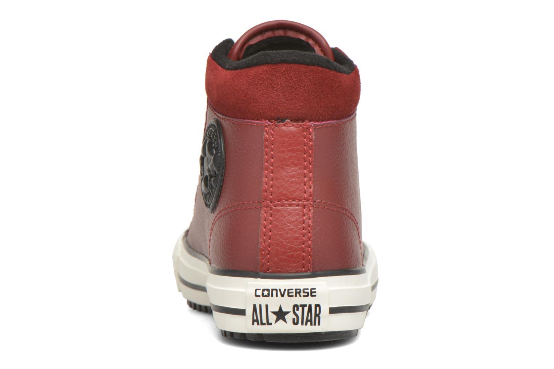 Sneaker Converse Chuck Taylor All Star Converse Boot Hi rot ansicht von rechts