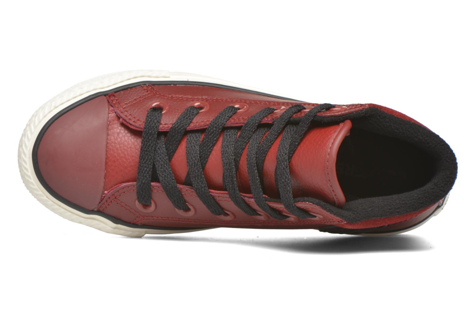 Trainers Converse Chuck Taylor All Star Converse Boot Hi Red view from the left