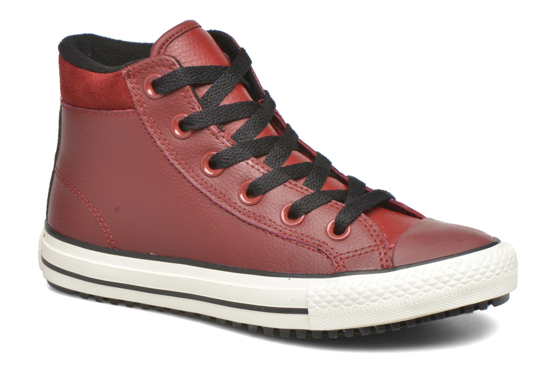 Deportivas Converse Chuck Taylor All Star Converse Boot Hi Rojo vista de detalle / par