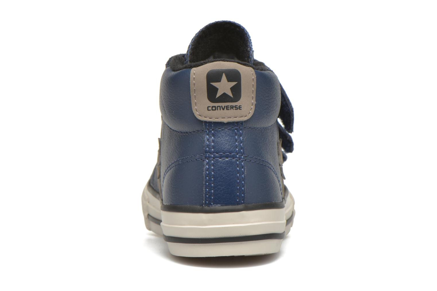 Sneakers Converse Star Player 3V Mid Blauw rechts